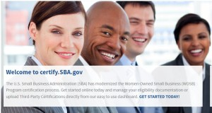 SBA Certify.gov site